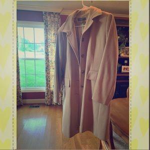 Banana Republic long wool peacoat XL.